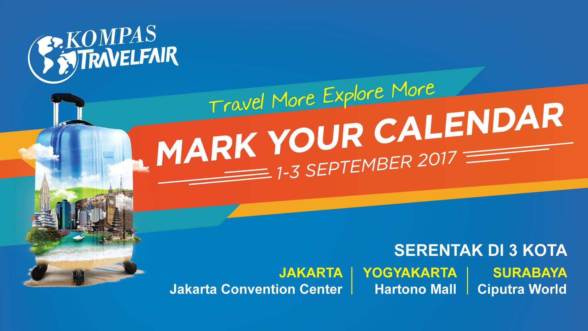 kompas travel fair 2017